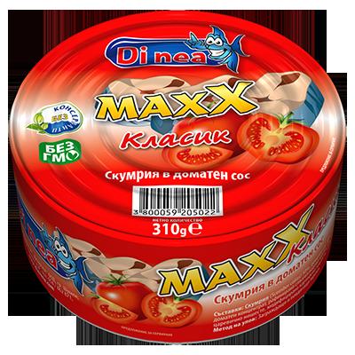 Mackerel in tomato sauce 310g.